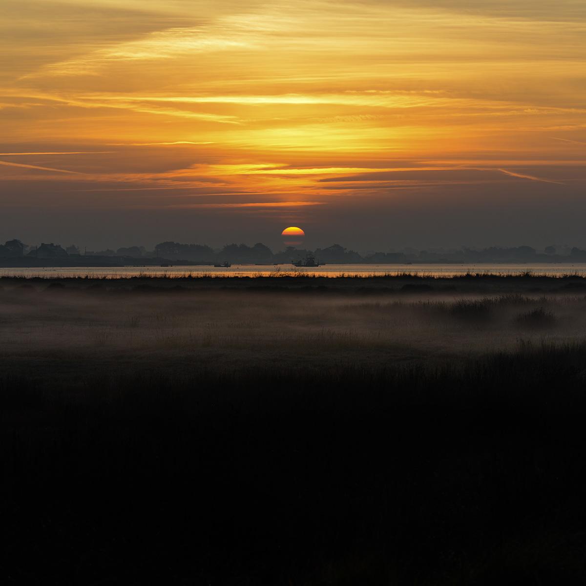 Sunset en Baie de Quiberon